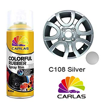 C108 SPRAY PLATEADO